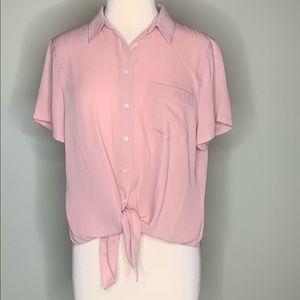 NWT J. Crew Mercantile blouse size XL